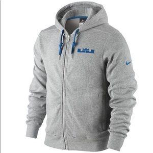 Nike Lebron Phantom Knit Zip Up Hoodie Sz 3XL